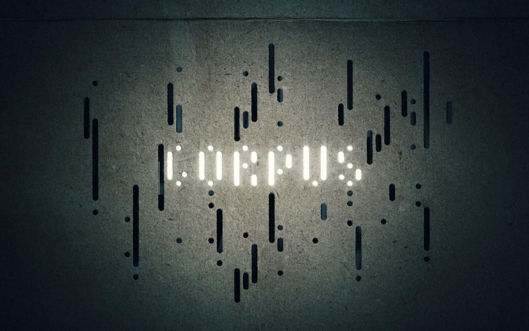 Corpus est en ligne